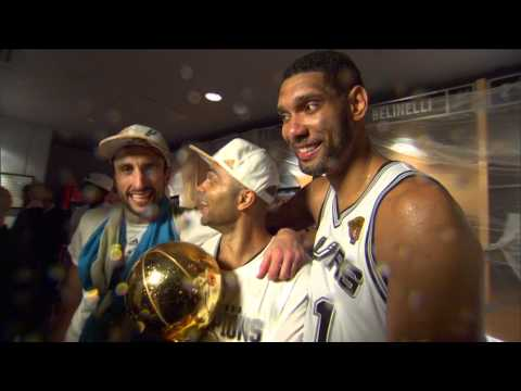 All Access: The Spurs' Big 3 Celebrate the Title