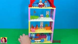 Casa de Lego de 3 andares - UAU ! Muito legal !!  #LEGO #TIACRIS #CASADELEGO