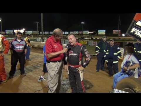Lincoln Speedway 358 Sprint Car Victory Lane 08-06-16