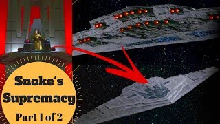 Snoke's Flagship & First Order Capital Ship HQ - Supremacy Mega-Destroyer - Last Jedi Lore - PART 1
