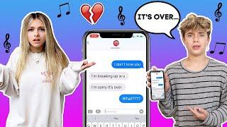 Tik Tok Lyric TEXT PRANK On My GIRLFRIEND **WE BROKE UP**🥺💔| Gavin Magnus ft. Coco Quinn