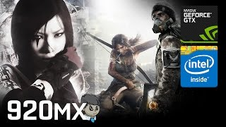 """920MX Gaming \ 15 Games in 10 Min \ """"GTA V"""" """"Battlefield 1"""" and more"""