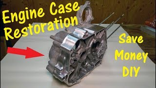DIY Motorcycle Engine Case Restoration