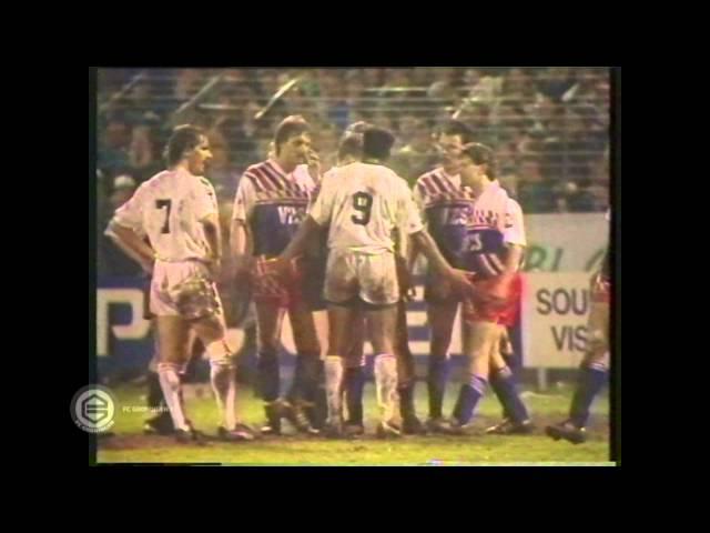 FC Groningen halve finale en finale KNVB-beker 1989