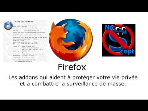 Firefox - Les addons contre la surveillance de masse