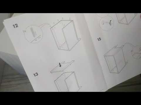 Собираем тумбочку Silveran из Ikea Часть 2