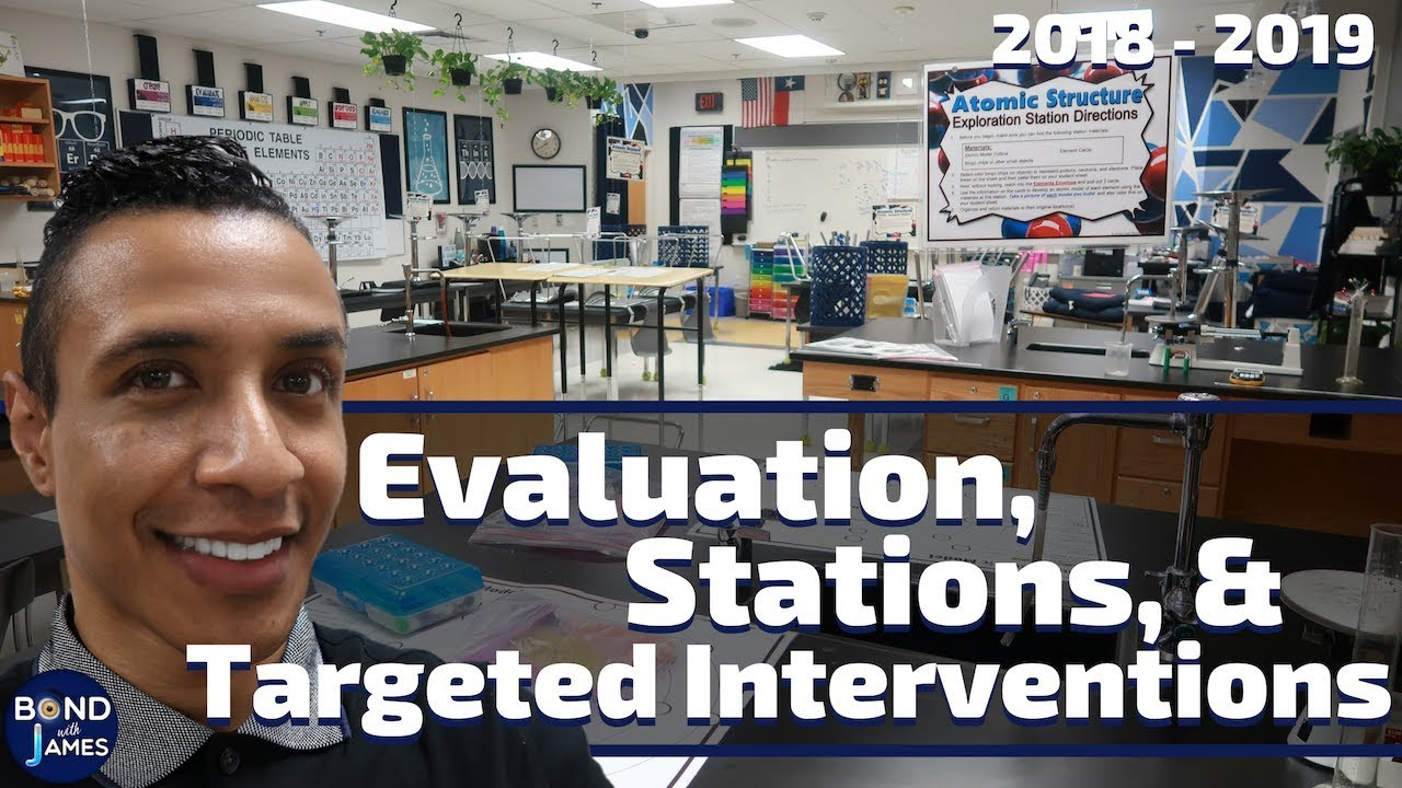 A Week in the Life of a Teacher   Teacher Evaluation, Stations, and Targeted Interventions