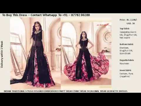 Buy Online (1.8 to 2.5) - Top Latest 2017 Modern Fashionable  Women Designer Anarkali Suits