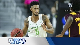 Highlights: Oregon men's basketball surges in second half to top Arizona State