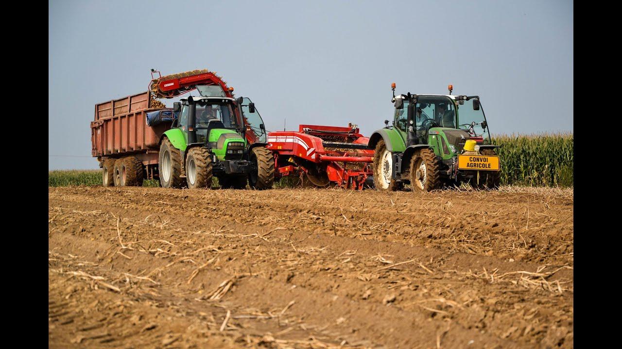 Arrachage des pommes de terre 2014 en normandie youtube - Date recolte pomme de terre ...