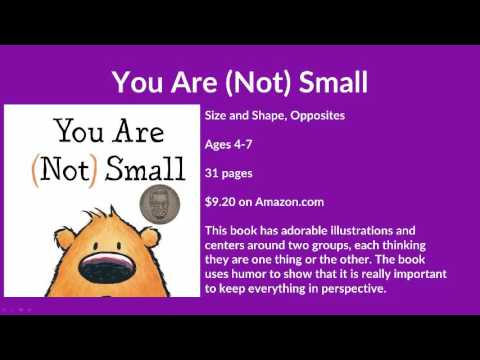 You Are Not Small By Anna Kang Childrens Book Review Kids