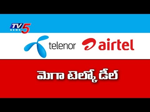 Airtel-Telenor Merger | Bharti Airtel to buy Telenor | TV5 News