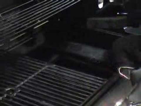 How to set up a smoker box on a gas grill
