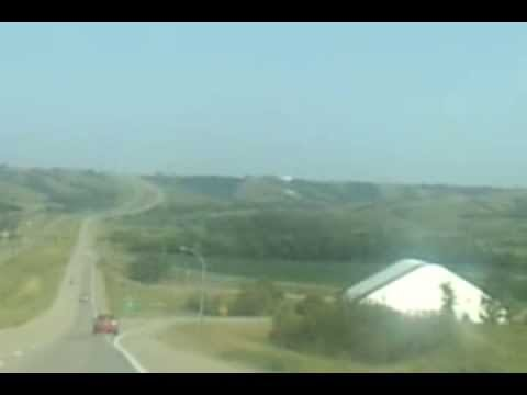 Trip from Saskatoon to Regina, SK, CANADA