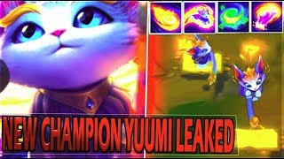 YUUMI NEW ENCHANTER SUPPORT CHAMPION LEAKED & Abilities Speculation - League of Legends
