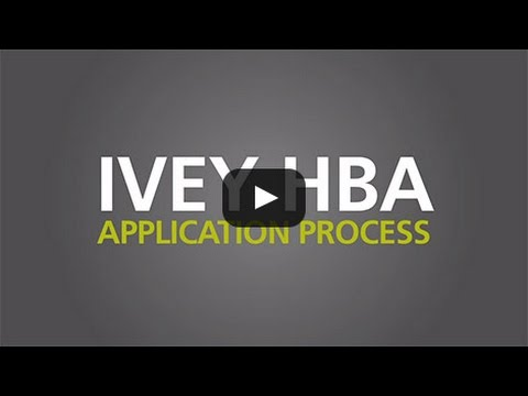 ivey application essay hba