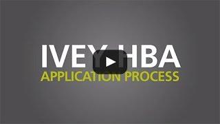 Thumbnail Ivey HBA Application Process