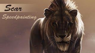 Scar - LION KING - Speedpainting