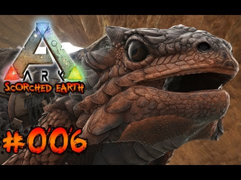 THORNY DRAGON zähmen! | ARK Scorched Earth #006