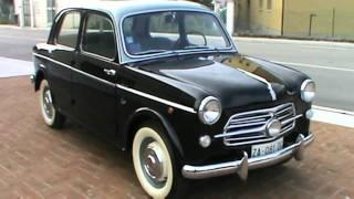 TOMMYCAR presenta Fiat 1100 103 TV 1955 per Mille Miglia e gare storiche - www.tommycarclassic.com