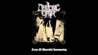 Demonic Oath - Dirges From an Hallucinating Mass
