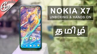 (தமிழ்) Nokia X7 (a.k.a Nokia 8.1 / Nokia 7.1 Plus) Unboxing, Hands On Review - India First!!!