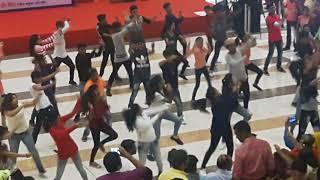 Flash mob at korum mall 7th oct 17 choreograph by kiran sawant