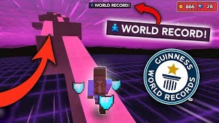 *NEW* EXTREME RUN WORLD RECORD!! | Pixel Gun 3D (Mini-Games)