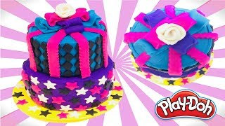 Dolls Food How To Make Monster High Birthday Cake Funny Play Doh For Kids