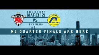 Chicago Mustangs vs Rochester Lancers (03/21/2019)
