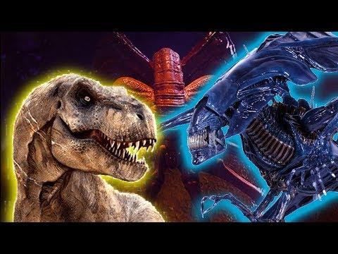 How Big Is The Alien Queen Xenomorph?!? Size Comparison