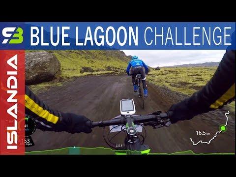 Islandia - maraton MTB Blue Lagoon Challenge 2017.