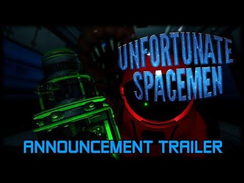 Announcement Trailer - Unfortunate Spacemen