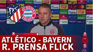 ATLÉTICO vs BAYERN | FLICK, rueda prensa CHAMPIONS: LEWANDOWSKI, GORETZKA... | DIARIO AS