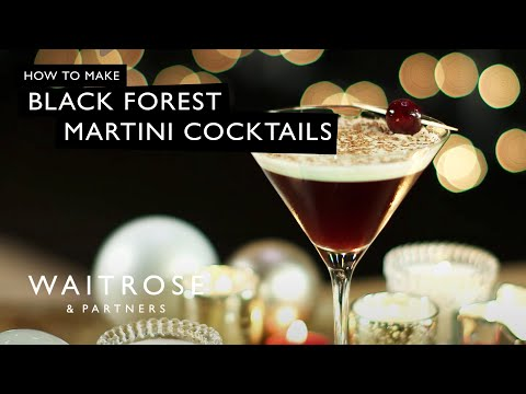 Black Forest Martini Cocktail | Waitrose