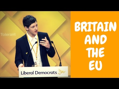 Dominic Buxton: Britain and the EU | Liberal Democrats Spring Conference 2017 Speech