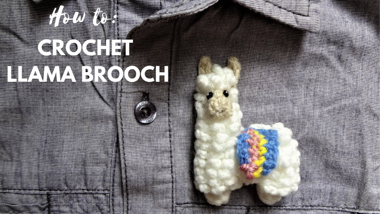 Crochet Amigurumi Small Alpaca Part 2 of 3 DIY Video Tutorial ... | 720x1280