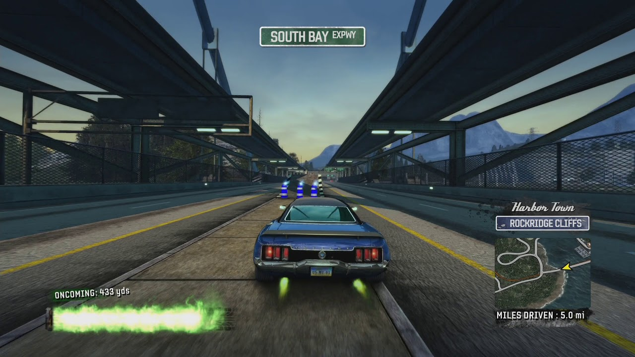 burnout paradise remastered xbox one x gameplay youtube. Black Bedroom Furniture Sets. Home Design Ideas