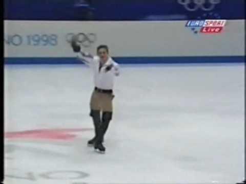 Phillippe Candeloro, D'Artagnan, 1998, Olimpics