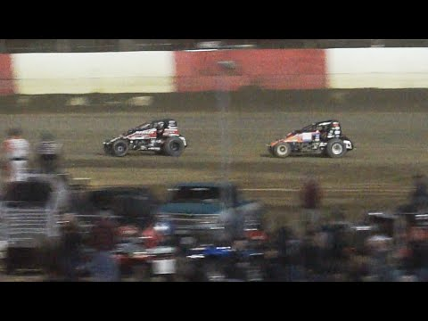 Race Finish - USAC at East Bay Raceway Park, 2-26-2015