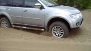 Mitsubishi Pajero Sport New - off road