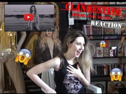 Shakira feat. Maluma - Clandestino (REACTION)