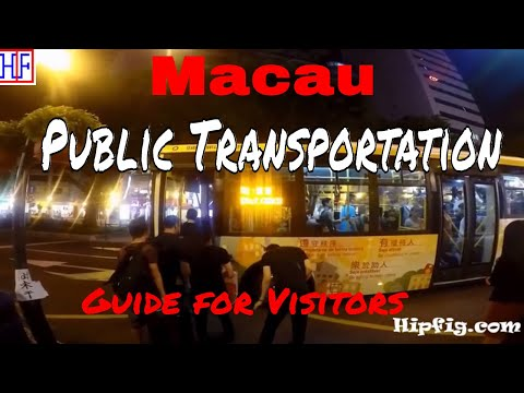 Macau - Public Transportation Guide - Getting Around (TRAVEL GUIDE) | Episode# 2