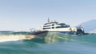 EXTREME YACHT HEIST (GTA 5 Heists Funny Moments) #6