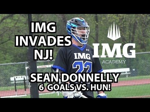 IMG Academy 15 Hun 11 Boys Lacrosse | Syracuse Commit Sean Donnelly 6 Goals!