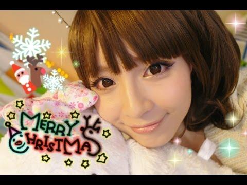 甜蜜蜜聖誕派對妝容♥My Christmas Makeup 2012