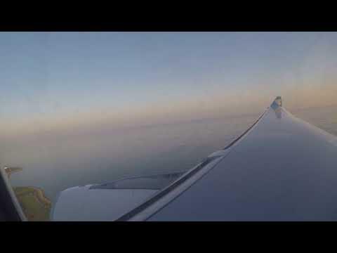 Oman Air Airbus A330-243 landing in Muscat