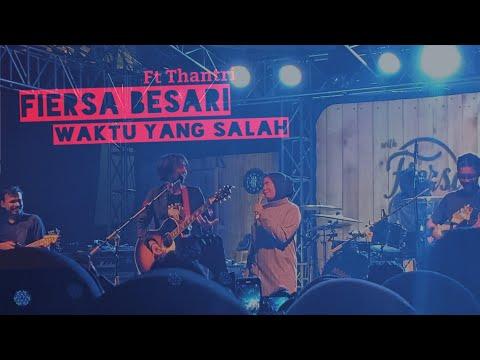 [LIVE] FIERSA BESARI Ft Thantri - WAKTU YANG SALAH (Live At Authenticity Bandung)