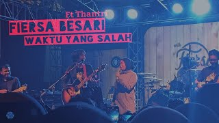 Download Mp3  Live  Fiersa Besari Ft Thantri - Waktu Yang Salah  Live At Authenticity Bandung