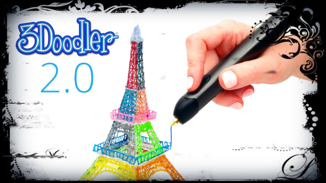 3doodler 2 0 le stylo capable de dessiner en 3d youtube